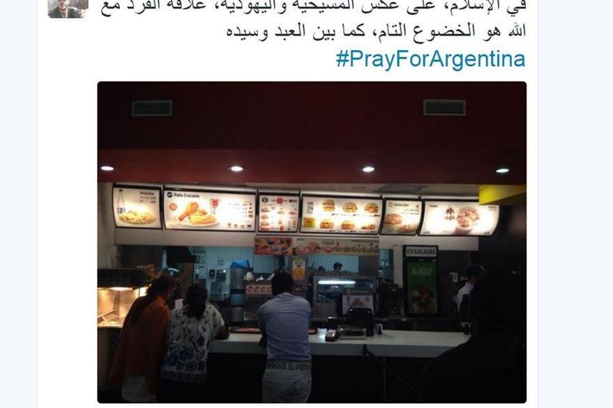 La cuenta creada en Twitter fue detectada por las autoridades y los jóvenes fueron detenidos. (Foto: Twitter/@HassanAbuJaaf).