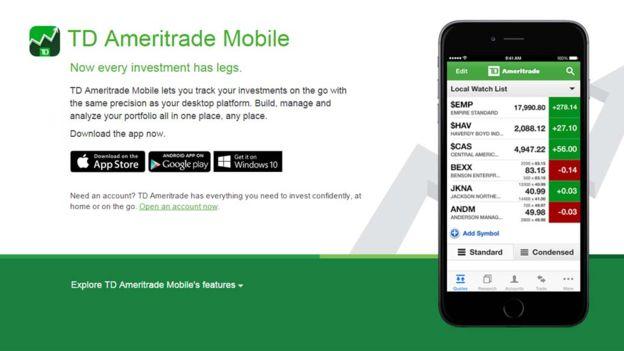 Su primera app exitosa fue una plataforma de compraventa de acciones.