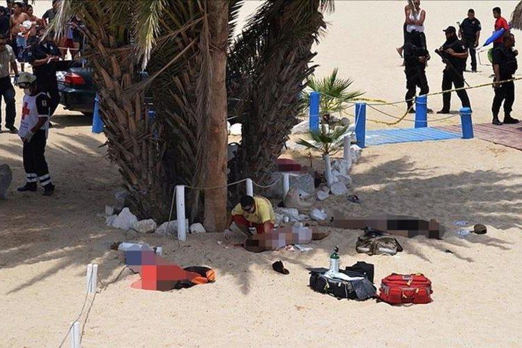 Tres personas mueren en un ataque armado en la playa mexicana de Los Cabos,estado de Baja California Sur. (Foto Prensa Libre:EFE).