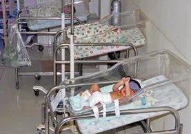 La mayoría de bebés son internados por problemas respiratorios en el centro asistencial. (Foto Prensa Libre: Hemeroteca PL).