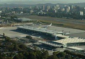 El aeropuerto La Aurora es uno de los reconocidos en Guatemala como internacional. (Foto, Prensa Libre: Hemeroteca PL)