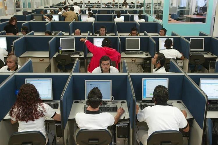 La actividad de centros de llamadas llegaron al país alrededor de 15 años atrás.