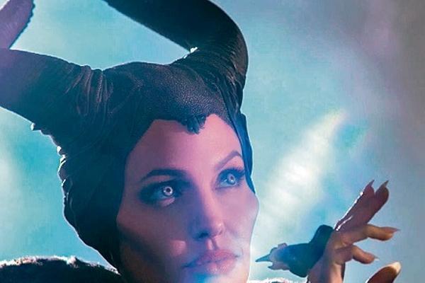 <p>Maléfica —angelina   Jolie— se convierte en un ser vengativo. (Foto Prensa Libre: Archivo)<br></p>