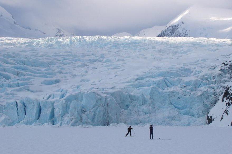 En el vasto territorio de Alaska, donde apenas viven 800 mil habitantes, los efectos del calentamiento global son evidentes. (Foto Prensa Libre: AP).