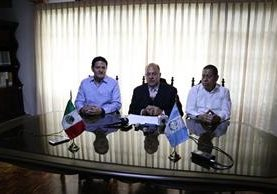Autoridades mexicanas anuncian aumento a siete días la permanecia en estados fronterizos con la Tarjeta de Visitante Regional. (Foto Prensa Libre: María José Longo)