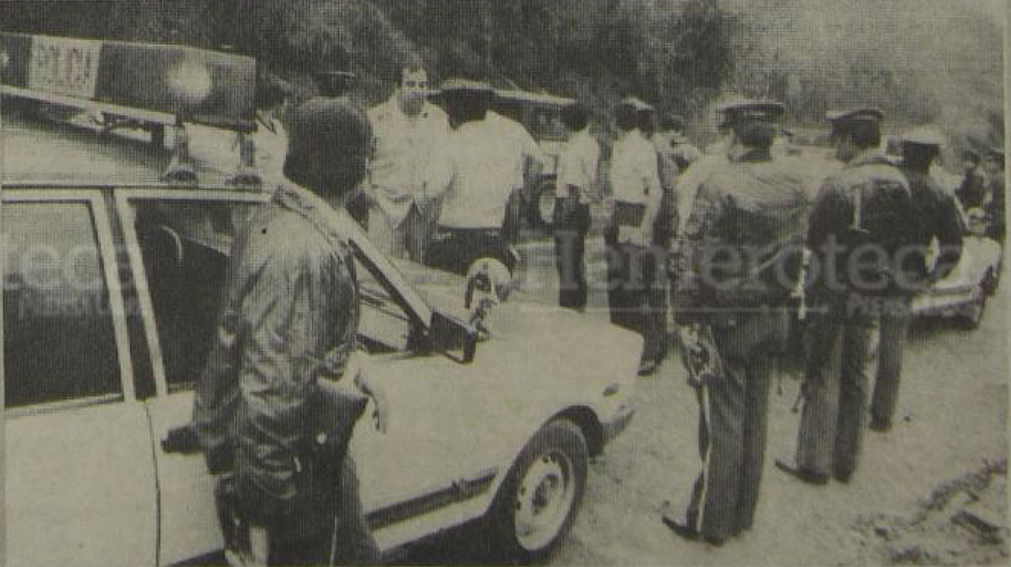 11/03/1988 Guardias de Hacienda son capturados dentro de la Panel Blanca  en ruta a El Salvador. (Foto: Hemeroteca PL)