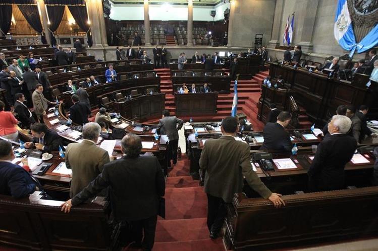 El Congreso reunido conoce el estado de Calamidad decretado por el Gobierno. (Foto Prensa Libre: Hemeroteca PL)