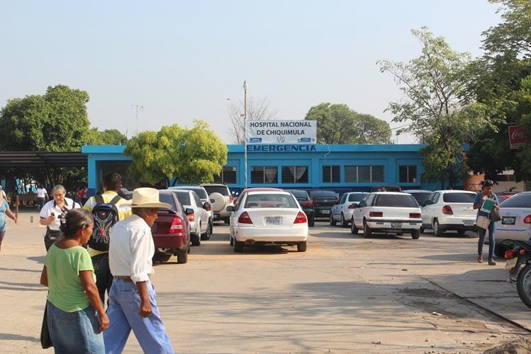 Hospital Nacional de Chiquimula, lugar donde es atendido David Rivera Esquivel por quemaduras en diversas partes del cuerpo. (Foto Prensa Libre: Edwin Paxtor)
