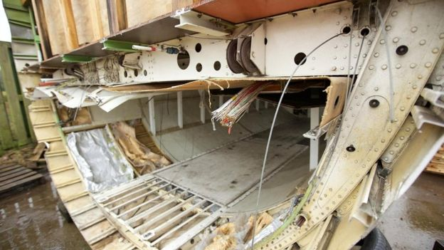 A veces objetos perdidos de larga data aparecen en los compartimientos de carga cuando son desmantelados. GETTY IMAGES