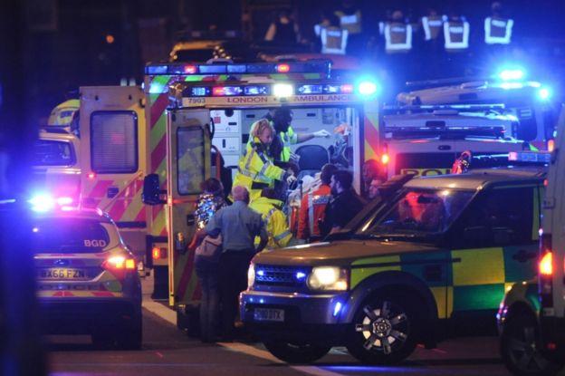 De los ocho ataques con atropellos registrados en el último año, tres han ocurrido en Londres. AFP