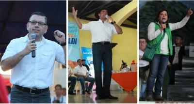 Candidatos mantienen giras de afiliación en la provincia. (Foto Prensa Libre: Hemeroteca PL)