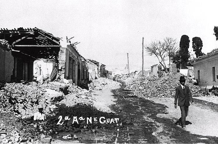 Experto relaciona el sismo de este lunes con los que antecedieron a los terremotos de 1916 y 1917.