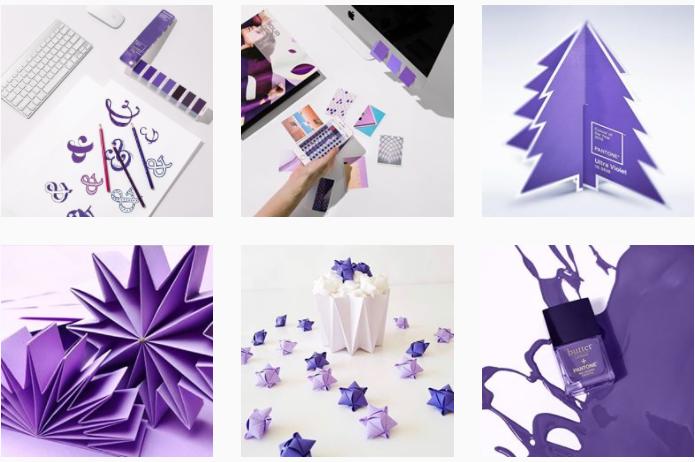 El ultra violeta dominará las tendencias de este año (Foto Prensa Libre: Instagram).