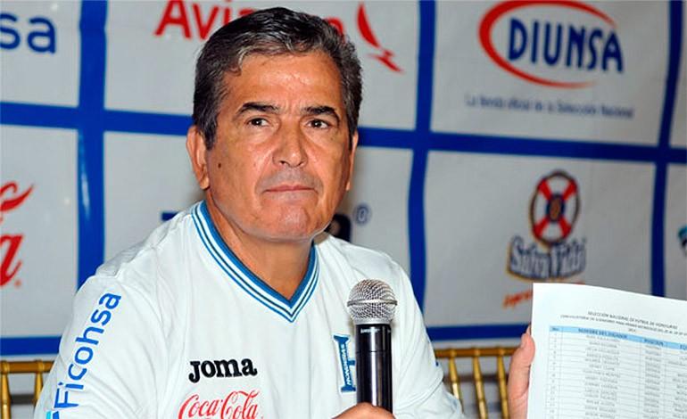 El técnico colombiano Jorge Luis Pinto dio a conocer la nómina de jugadores de la selección de Honduras. (Foto Prensa Libre: Diario Diez)