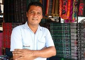 Luis Roberto Santizo, es originario de Samayac, Suchitepéquez. (Foto Prensa Libre: Cristian Icó)