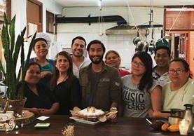 El Mercadito de Lola, un restaurante de comida orgánica, permitió a su fundadora, Jenny Whitehead optar a una beca en Estados Unidos. (Foto Prensa Libre: Tomada de Facebook)