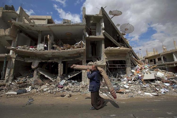 En los últimos meses, grupos extremistas reivindicaron atentados mortales en distintas partes de Siria. (Foto Prensa Libre: AP).