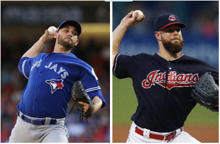 Los lanzadores para el viernes serán Marco Estrada por el equipo canadiense y Corey Kluber por el estadounidense. (Foto Prensa Libre)