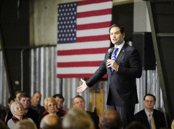Marco Rubio, precandidato republicano a la Presidencia de EEUU.