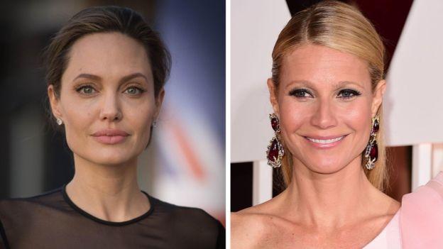Las actrices Angelina Jolie y Gwyneth Paltrow dijeron haber sido acosadas por el productor Harvey Weinstein. PA
