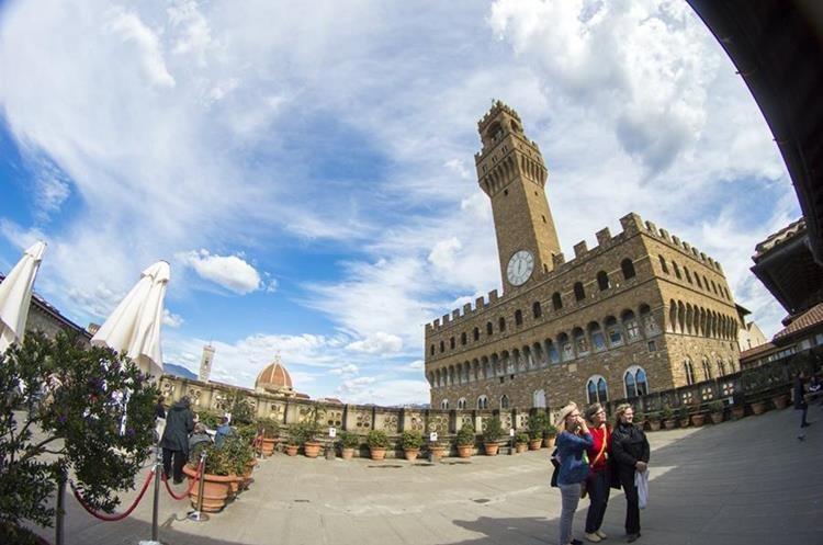 Palazzo Vecchio. Foto Prensa Libre: Roberto Villalobos Viato.