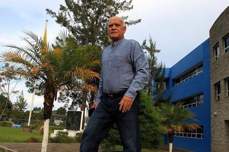 El estratega nacional Wálter Claverí vuelve a Suchitepéquez. (Foto Prensa Libre: Carlos Vicente)