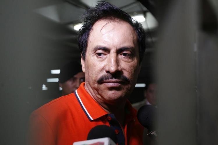 El mexicano Gilberto Rivera Amarilla, de 58 años, tiene una orden de extradicción a Estados Unidos. (Foto Prensa Libre: Paulo Raquec)