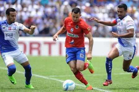 Los rojos eliminaron a Suchi y disputarán la final contra Guastatoya. (Foto Prensa Libre).