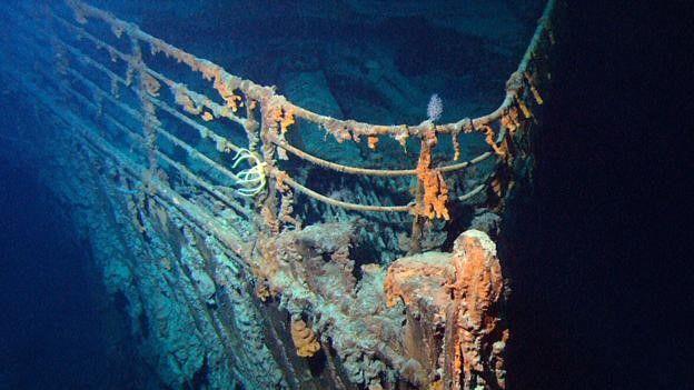El Titanic fue hallado prácticamente intacto, por casualidad. SCIENCE PHOTO LIBRARY