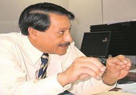 Óscar Comparini integró la UNE de 2001 a 2008. (Foto Prensa Libre: Hemeroteca PL)