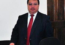 César Augusto Ajanel García, concejal tercero de La Esperanza, Quetzaltenango, es acusado de haber extorsionado al alcalde. (Foto Prensa Libre Alejandra Martínez).