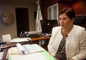 La fiscal Thelma Aldana reveló que implicados en La Línea querían atentar en su contra con sicarios salvadoreños. (Foto Prensa Libre: Hemeroteca PL)
