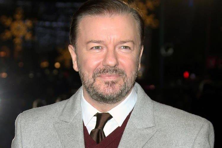 Ricky Gervais presentará los Globos de Oro en el 2016. (Foto Prensa Libre: AP)