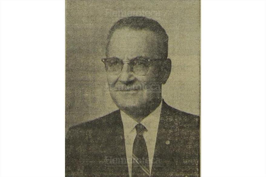 Eduardo Cáceres Lehnhoff, vicepresidente de Arana Osorio en 1970. (Foto: Hemeroteca PL)