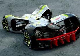 El auto podrá alcanzar los 320 kilómetros por hora gracias a la propulsión de cuatro motores eléctricos. (ROBORACE)