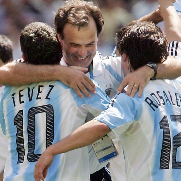 Bielsa fue el último seleccionador argentino en cumplir un ciclo duradero al estar seis años en el banquillo. (Getty Images)