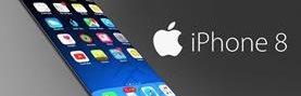 Muchos portales especializados en tecnología aseguran que el iPhone 8 tendrá una pantalla que ocupe toda la parte frontal. (Foto Prensa Libre: Internet).