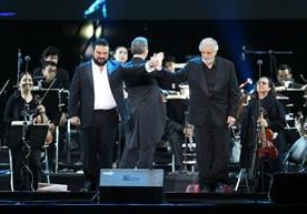 El tenor español fue ovacionado en Guatemala.