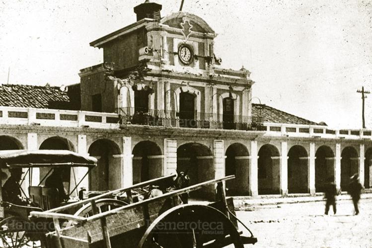 Palacio donde se firmó el acta de la independencia de Guatemala. (Foto: Hemeroteca PL)