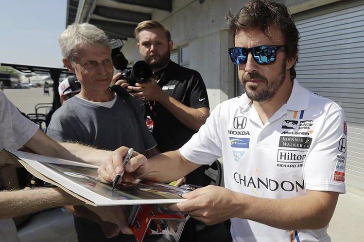 Alonso pasó la primera prueba