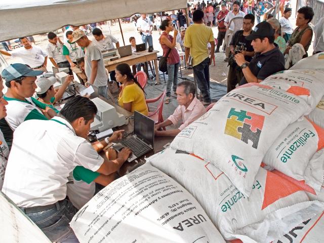 La semana pasada el Maga anunció que entregaría un subsidio para la compra de abono.