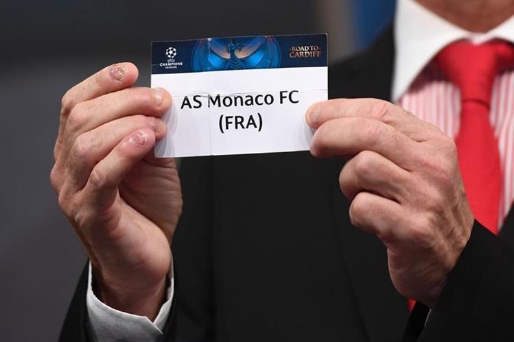 El Mónaco abre la serie en casa contra la Juventus de Turín. (Foto Prensa Libre: AFP)