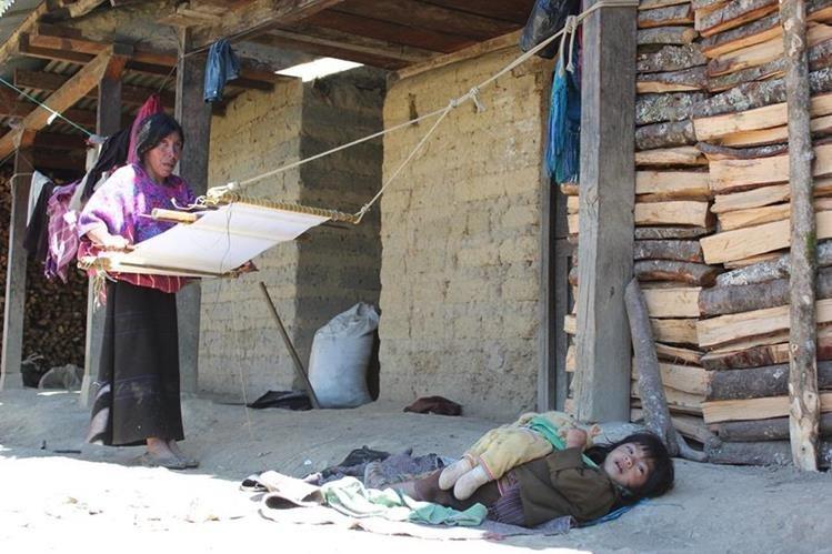 La desnutrición infantil es uno de los flagelos de la región. (Foto Prensa Libre: Hemeroteca PL)