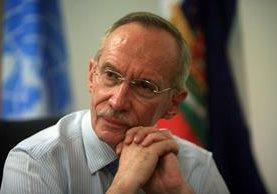 Edmond Mulet es nombrado como jefe de Gabinete por Ban Ki-moon secretario general de la ONU. (Foto Prensa Libre: Hemeroteca PL)