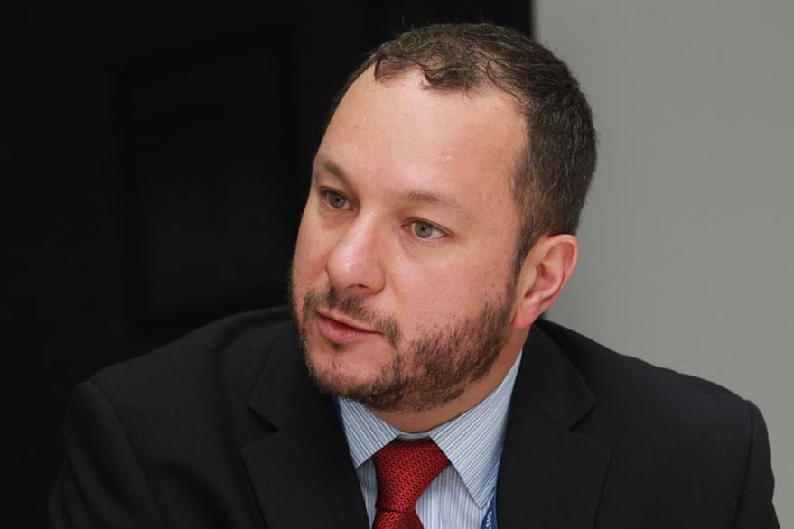Martín Prera, director de Mercadeo de Distelsa, asegura que la empresa no está involucrada en la defraudación. (Foto Prensa Libre: Estuardo Paredes)