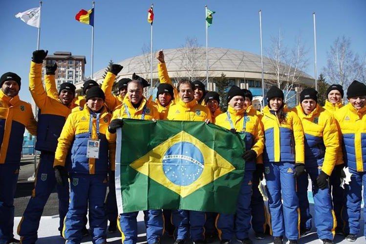 La delegación de Brasil está integrada con nueve deportistas. (Foto Prensa Libre: AFP).