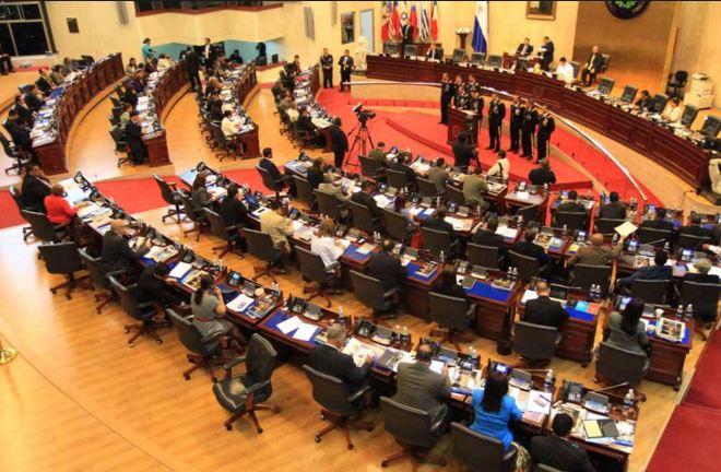(Imagen de referencia). El Congreso salvadoreño durante una reunión ordinaria. (Foto: La Prensa Gráfica).