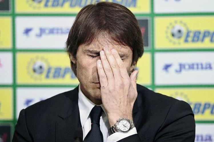El técnico Antonio Conte está en la mira de la justicia italiana por arreglo de partidos. (Foto Prensa Libre: AP)