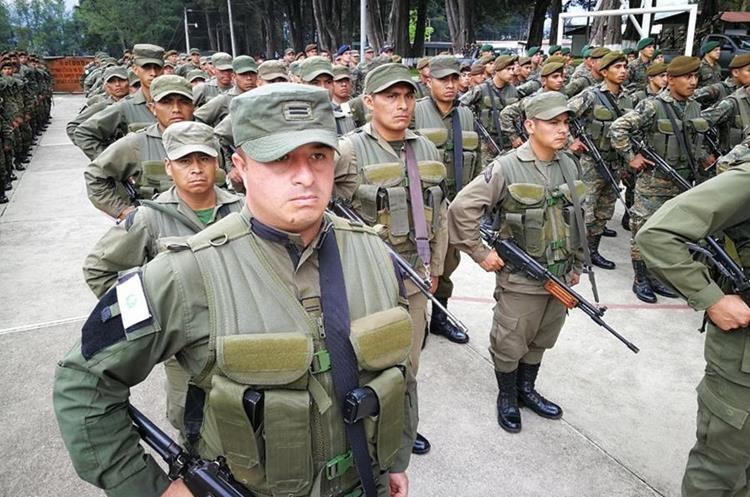 Elementos castrenses han llegado a San Marcos para incursionar entre Tajumulco e Ixchiguan.