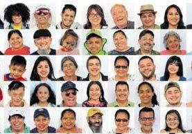 Cien guatemaltecos aceptaron posar y hablar de la felicidad para Prensa Libre. Todos los rostros pueden verse en www.prensalibre.com y nuestras redes sociales. (Foto Prensa Libre: Estuardo Paredes)